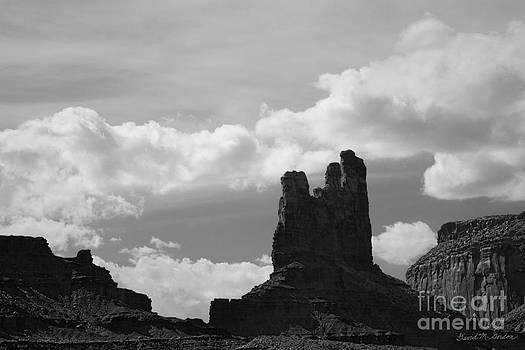 David Gordon - Monument Valley V BW