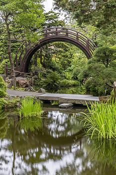 Adam Romanowicz - Moon Bridge Vertical - Japanese Tea Garden