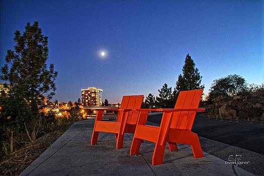 Moon chairs by Dan Quam