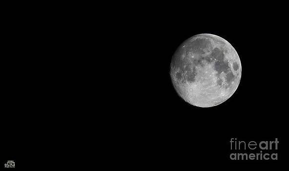 Moon by Dheeraj B
