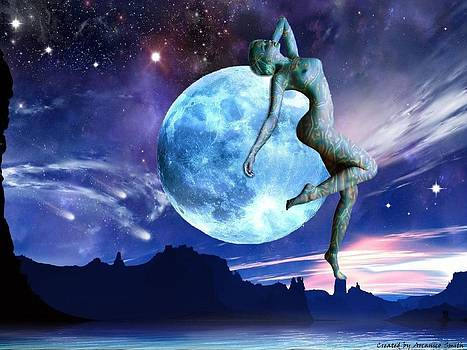 Moon Girl by Arcanico Luca Smith Acquaviva