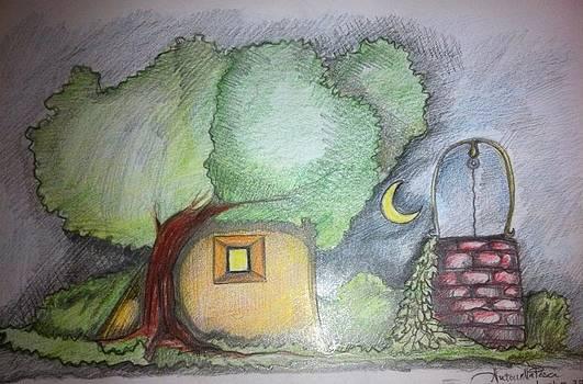 Moon house by Antonella Pesci