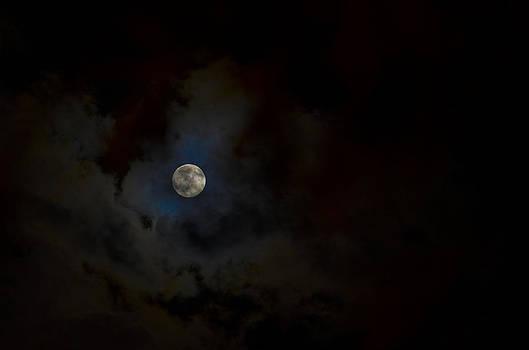 Moon I by Anna Azmitia