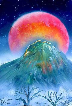 Moon light Mountain by William  Dorsett