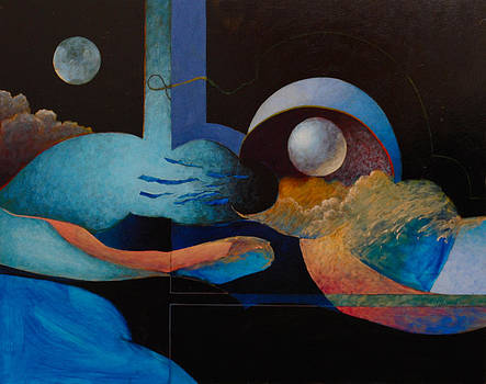 Moon On The Halfshell by Bill Dowdy