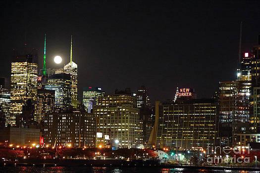 Moon over Manhattan by Dan Hilsenrath