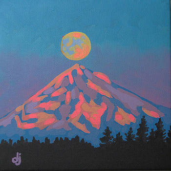 Sunset Moon by Dorothy Jenson