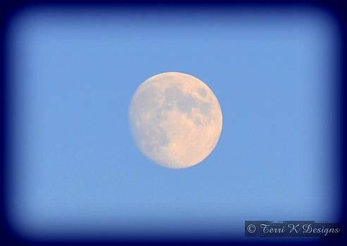 Moon by Terri K Designs