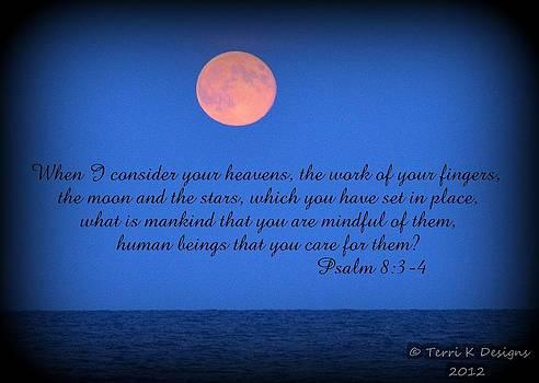 Moon verse by Terri K Designs