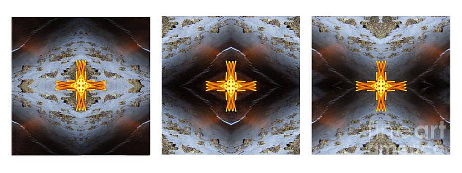 Moonbird Triptych by Gerald Grow