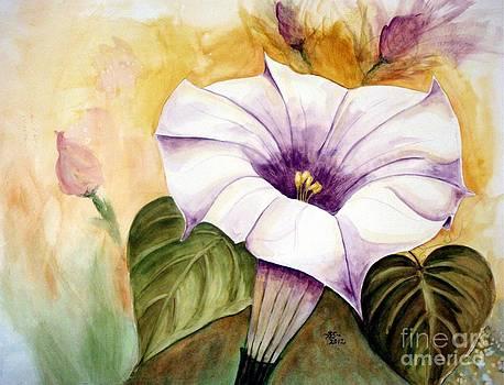 Moonflower 2 by Bonnie Schallermeir
