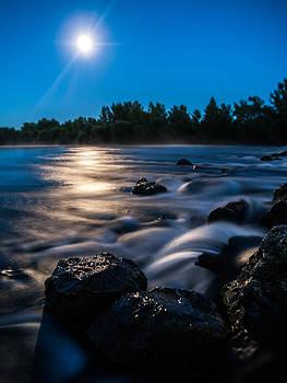 Moonlight magic by Davorin Mance