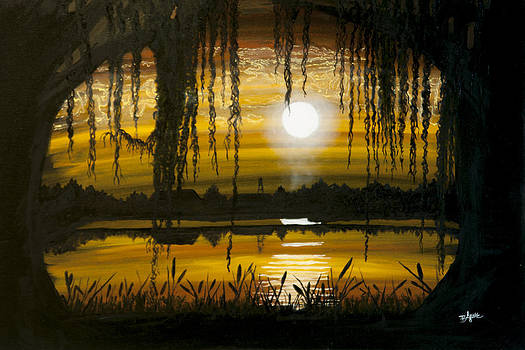 Moonlit Louisiana Nights by BJ Hilton Hitchcock