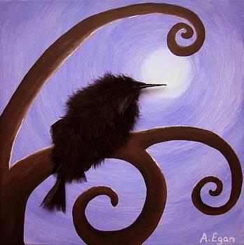 Moonlit Meditation by Annette Egan