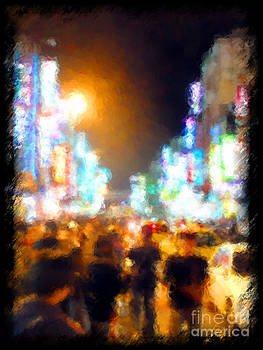 Moonlit Shanghai by Jack Gannon