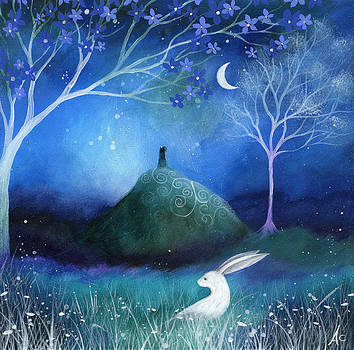 Moonlite and Hare by Amanda Clark