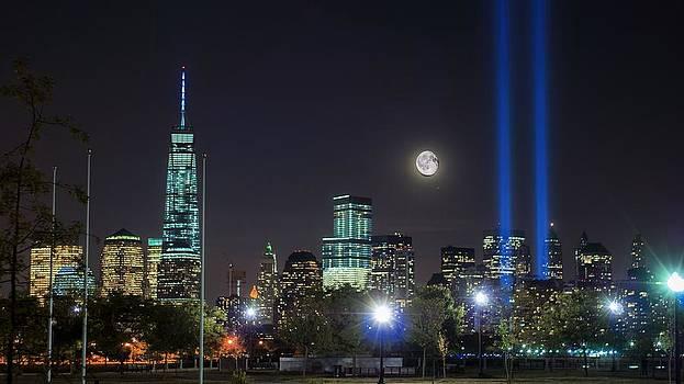 Moonrise Over Ground Zero by Mark Cranston