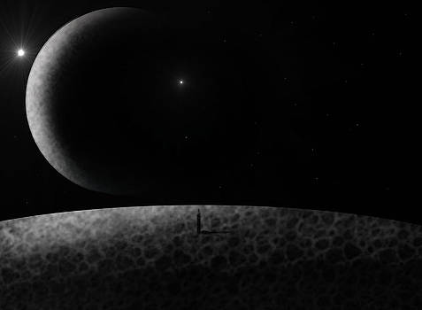 Moons by Ricky Haug