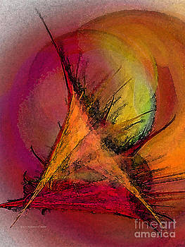 Moonstruck-Abstract Art by Karin Kuhlmann