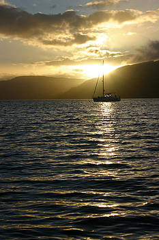 Mooring for the Night by Fraser McCulloch