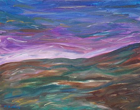 Moorland Evening by Martin Blakeley