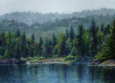 Moose Lake by Kathy Dolan