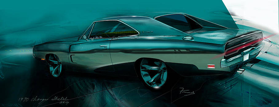 Mopar art by Fred Otene