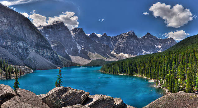 Matt Dobson - Moraine Lake HDR Panorama