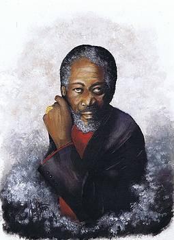Morgan Freeman by Jerry Bates