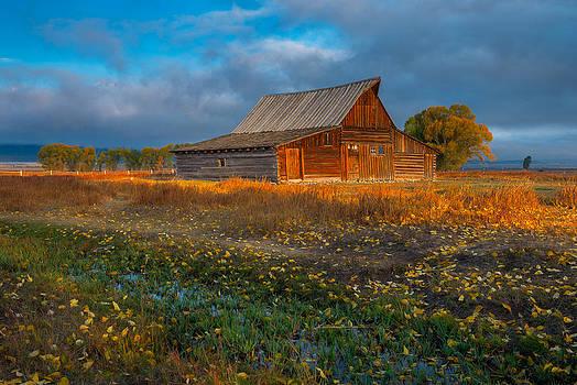 Mormon Row Autumn by Joseph Rossbach