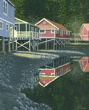 Morning at Telegraph cove by Gary Giacomelli