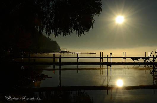 Marianne Kuzimski - Morning at the Docks