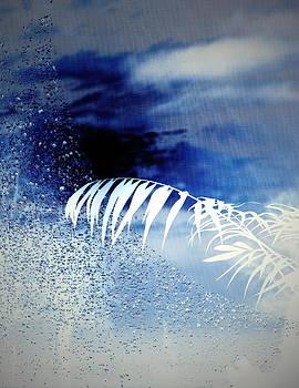 Joyce Dickens - Morning Dew Screen In Blue