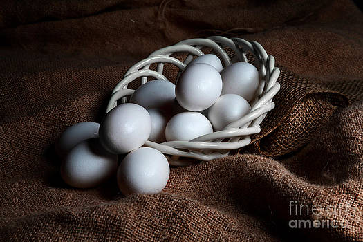 Morning Eggs by Cecil Fuselier