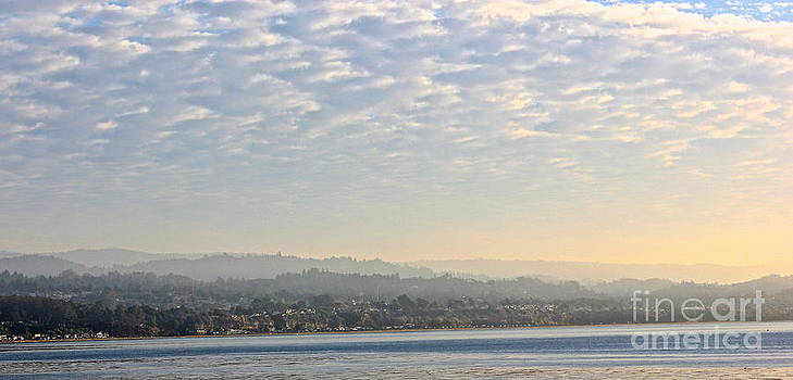 Morning Fog on Monterey Bay by Shannan Peters