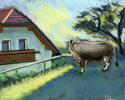 Morning in Kamnik Alps by Lelia Sorokina
