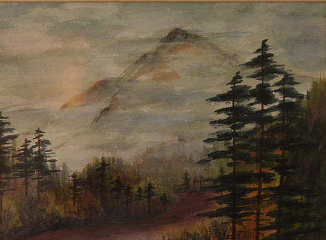 Morning in the Mountains by Shirley Watts