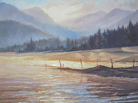 Morning Lake by Andrei Attila Mezei