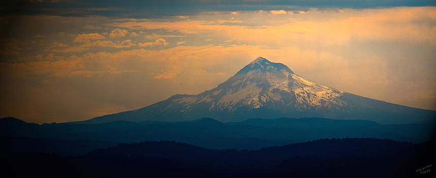 Morning Light on Mt. Hood by Wendy Lynn Conder
