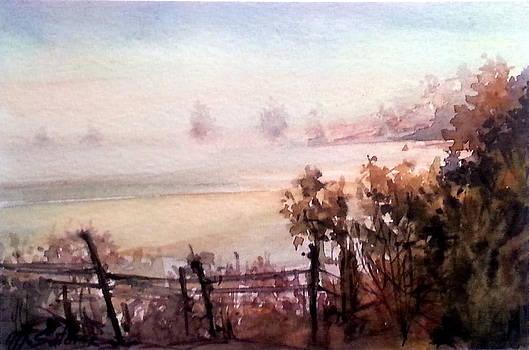 Morning by Mikhail Savchenko