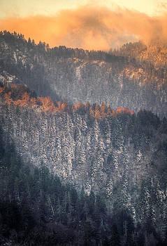 Morning Mountains II by Rebecca Hiatt