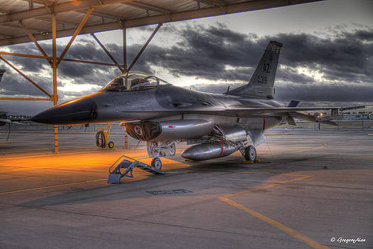 Morning on the Flightline by Gregory Johnson