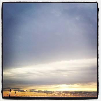 Morning Sky Before Snow by Anastasia Pleasant