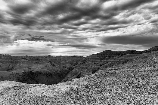 Morning Storm Badlands National Park SD by Troy Montemayor