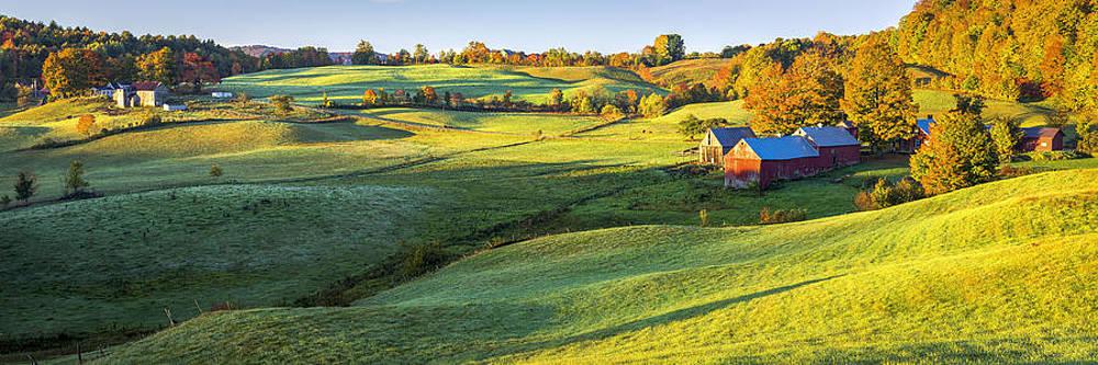 Morning Sunlight on the Farm by Kyle Wasielewski
