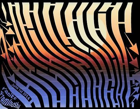 Morning Turbulence Maze by Yanito Freminoshi