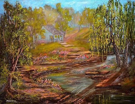 Morning Wispers by Michael Mrozik