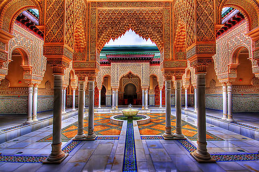 Moroccan Palace - HDR by Sham Osman