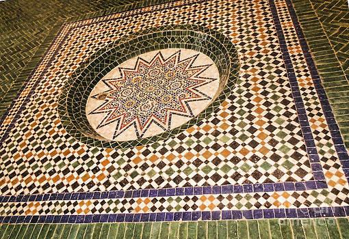 Chuck Kuhn - Morocco Tiles I