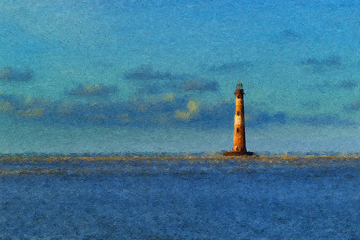 Morris Island Lighthouse by Curtis Keisler